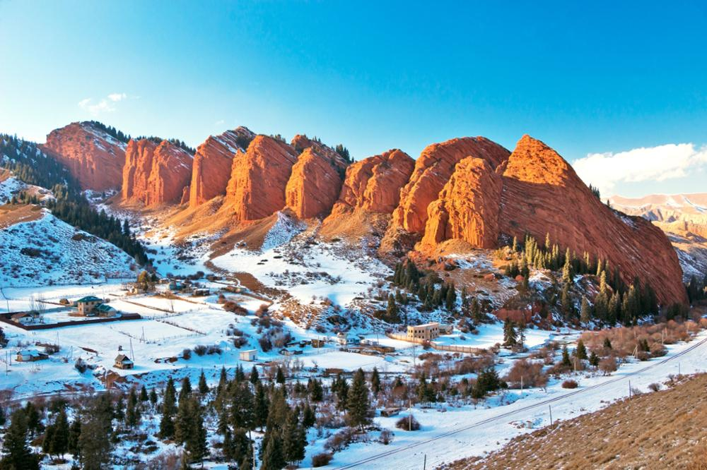 Que faire au Kirghizistan en hiver ?