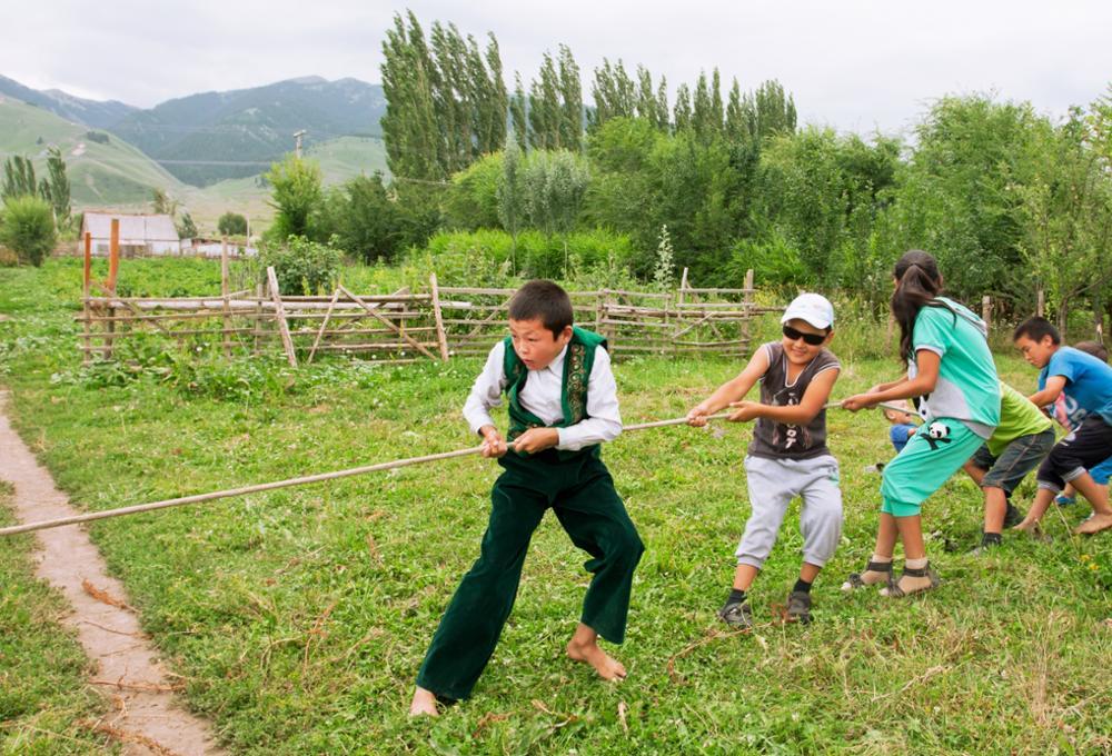Quelques jeux nomades kirghizes