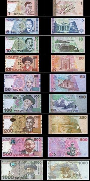 billets kirghizes