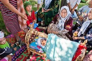 démographie Kirghizistan