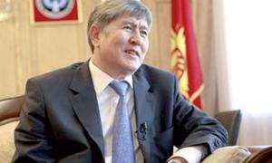 président kirghizistan