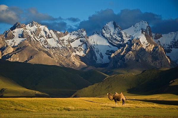 beauté kirghizistan