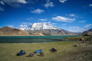 camping Kirghizistan
