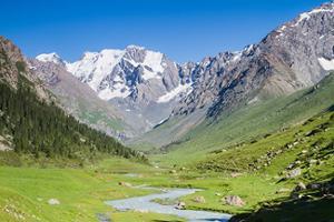 montagne du Kirghizistan