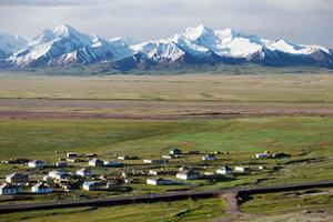 village Kirghizistan