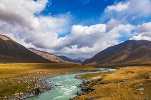 Nature sauvage du kirghizistan