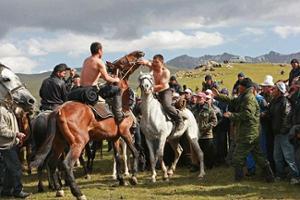 jeux nomades aux Kirghizistan