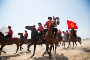 kirghizistan jeux nomades