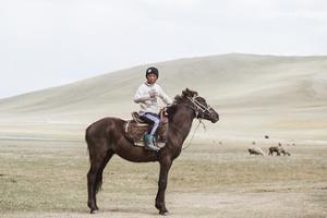 enfant kirghize